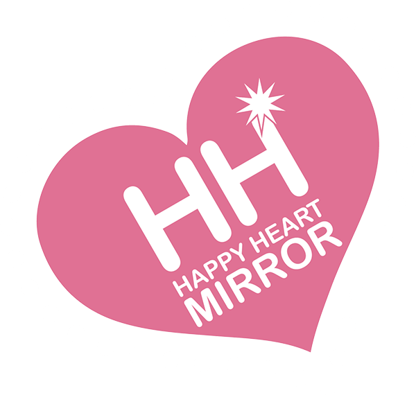 Happy Heart Mirror