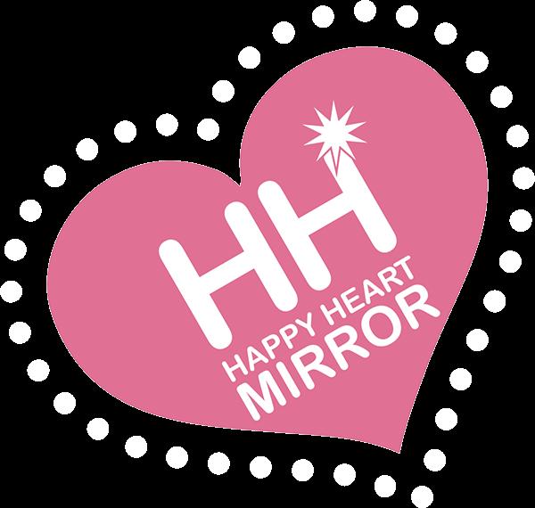 Happy Heart Mirror